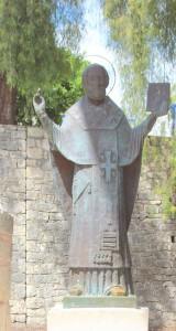 Sinterklaas als bisschop