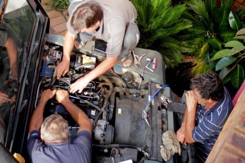 8 Auto reparatie Johannesburg met Louis, Willie en Ray-003t