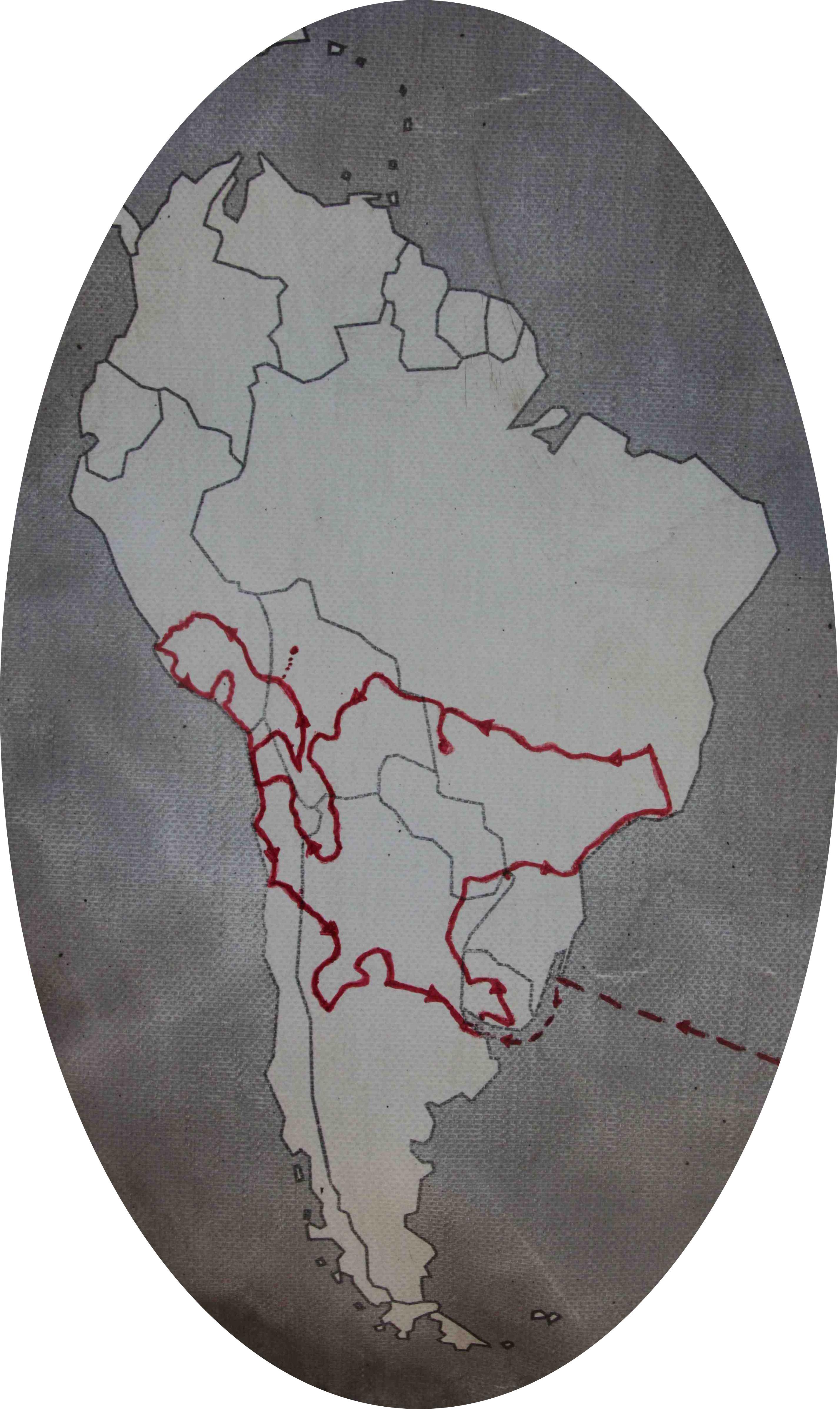 ibeX route Zuid Amerika 2014