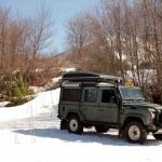 Sneeuw in Lovcen National Park